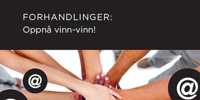 Salgsskolen - Forhandlinger: Oppnå vinn-vinn!