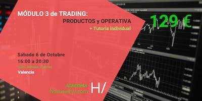 MÓDULO 3. Curso de Trading. PRODUCTOS y OPERATIVA
