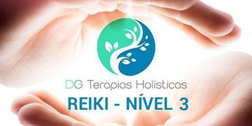 CURSO: INICIAÇÃO REIKI - NÍVEL III