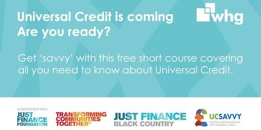UC (Universal Credit) Savvy: Walsall