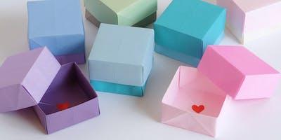 Workshop con Sara Sebastiani di @bluebelldesign - Origami creativi
