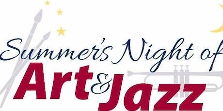 Summer's Night of Art & Jazz 2019 tickets