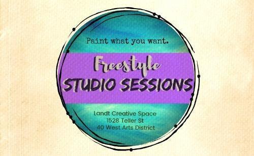 Freestyle Studio Session: Tues 9/25  4-9pm