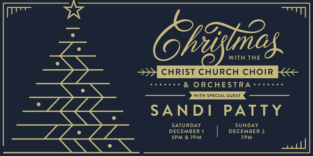 Christmas with the Christ Church Choir, December 1 & 2, 2018 Tickets ...