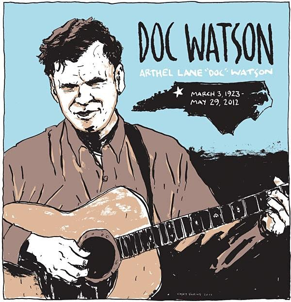 9:00pm MASTER'S RADIO SERIES: SONGS OF DOC WATSON