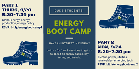 Duke University Energy Initiative Events   Eventbrite