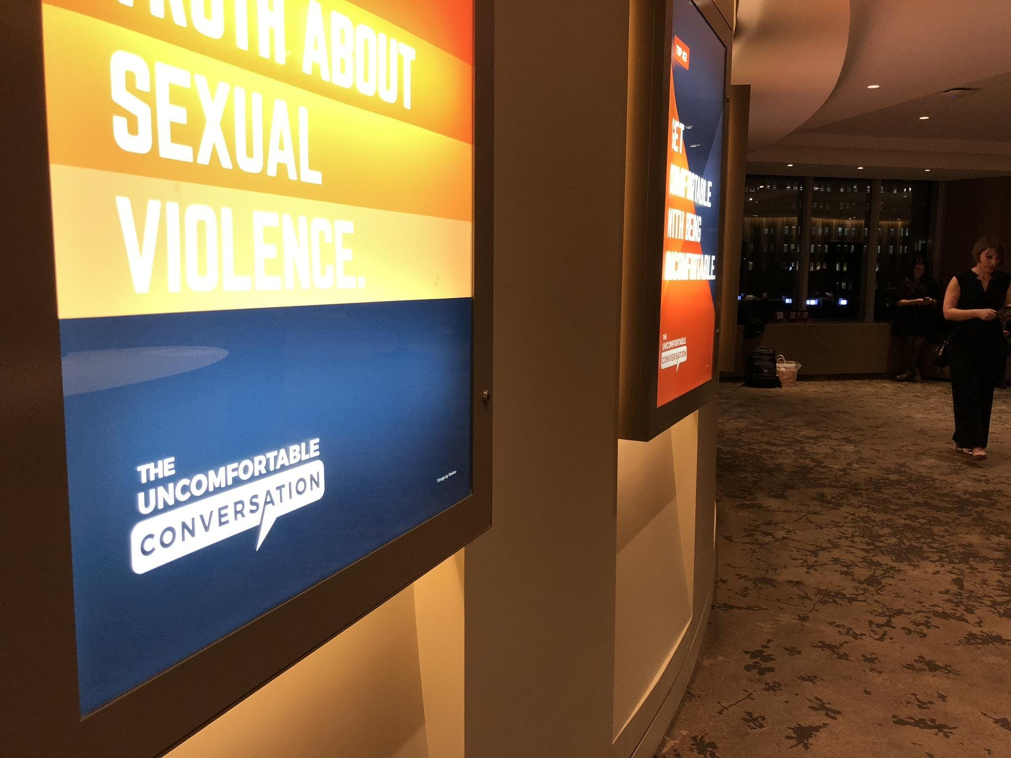 Get Uncomfortable: An Interactive Screening E