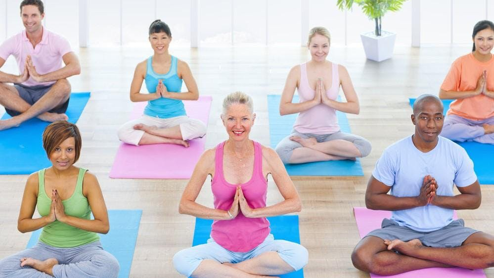 Slow Flow Yoga at the Sanctuary
