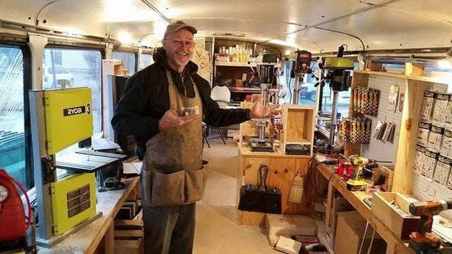 Pinewood Derby Work-shop on Big Sally II MOND