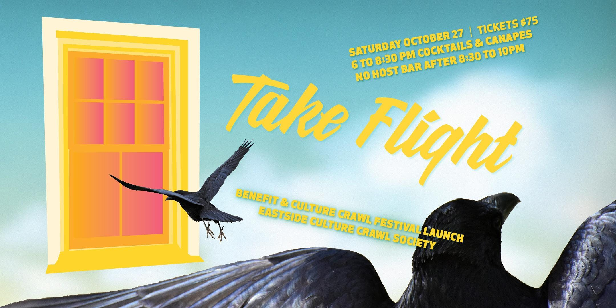 Take Flight: Benefit and Culture Crawl Festival Launch