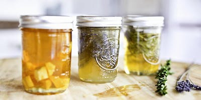 DIY Holiday Gifts: Herbal Infused Honey