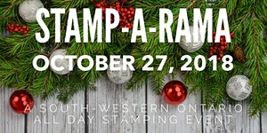 Stamp-A-Rama -  October 27, 2018