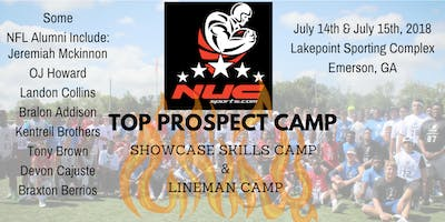 NUC Top Prospect Football Camp | Atlanta, GA | July 13th and 14th, 2019