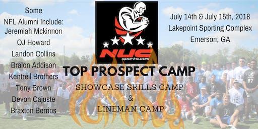 NUC Top Prospect Football Camp | Atlanta, GA | July 13th and 14th, 2019
