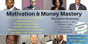Motivation & Money Mastery Business Seminar