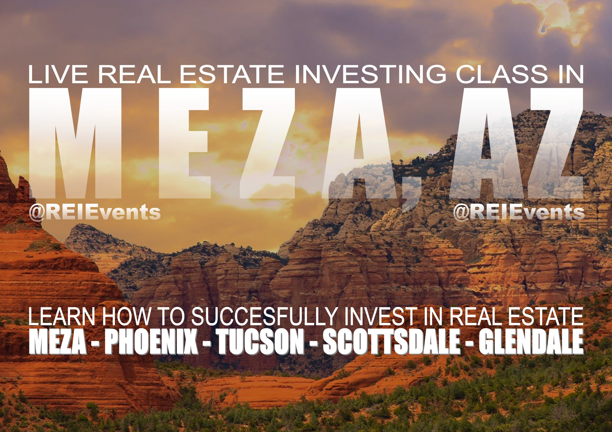 Arizona Real Estate Investing LIVE Orientation - Mesa Arizona