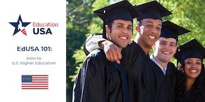 EdUSA 101: Intro to U.S. Higher Education (Sept 27)