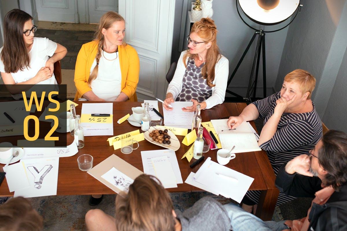 Workshop »Positionierung - dein strategisches