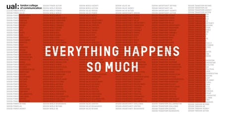 everything happens so much closing event tickets wed 17 oct 2018