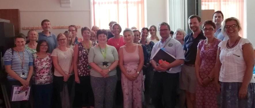 Community Connector workshop in Langport