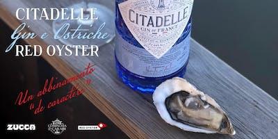 """Citadelle Gin & Ostriche Red Oyster. Un abbinamento """"de caractére"""""""