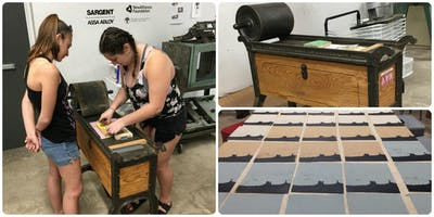 Printmaking with the Printing Press