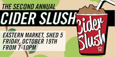 The Second Annual Cider Slush