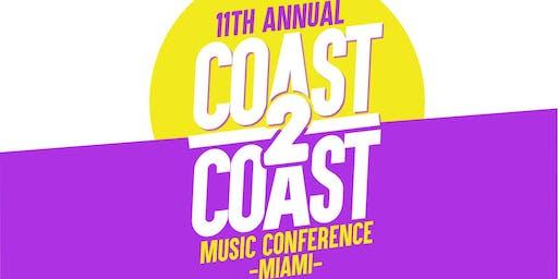 COAST 2 COAST MUSIC CONFERENCE 2019