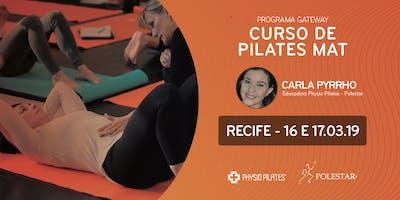 Curso de Pilates Mat - Physio Pilates Polestar - Recife