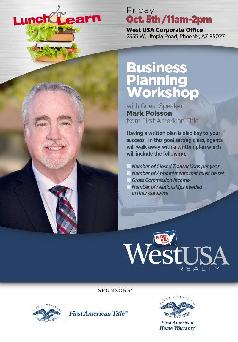 Business Planning Lunch & Learn