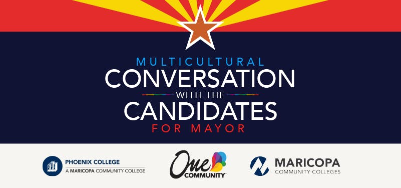 Multicultural Conversation with the Candidates for Mayor