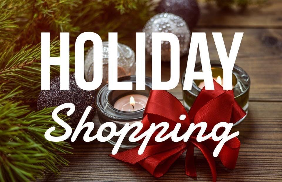 Holiday Shopping Vendor Event Hosted By CHAPS Group 3 NOV 2018