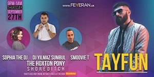 TAYFUN & Dj Yilmaz Sumbul - Sophia The Dj - Smoovie T
