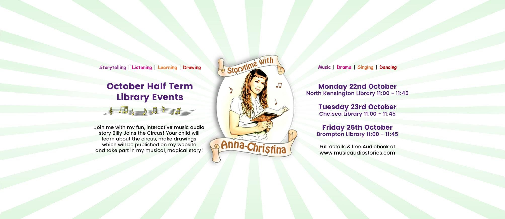 Storytime with Anna-Christina at Chelsea Libr