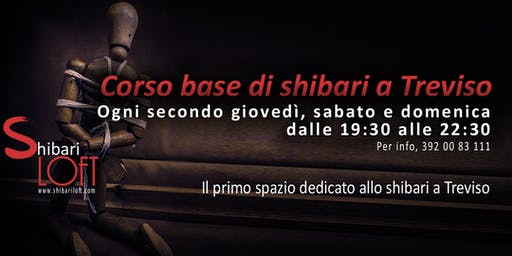 Corso di shibari a Treviso - Corso Base - Shibari Loft