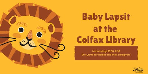 Baby Lapsit at the Colfax Library
