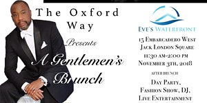 "A Gentlemen's Brunch -  Putting the ""G"" Back in..."