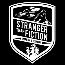 Stranger Than Fiction Improv & Comedy logo