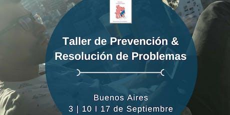 Taller de prevención y resolución de problemas #Baires entradas