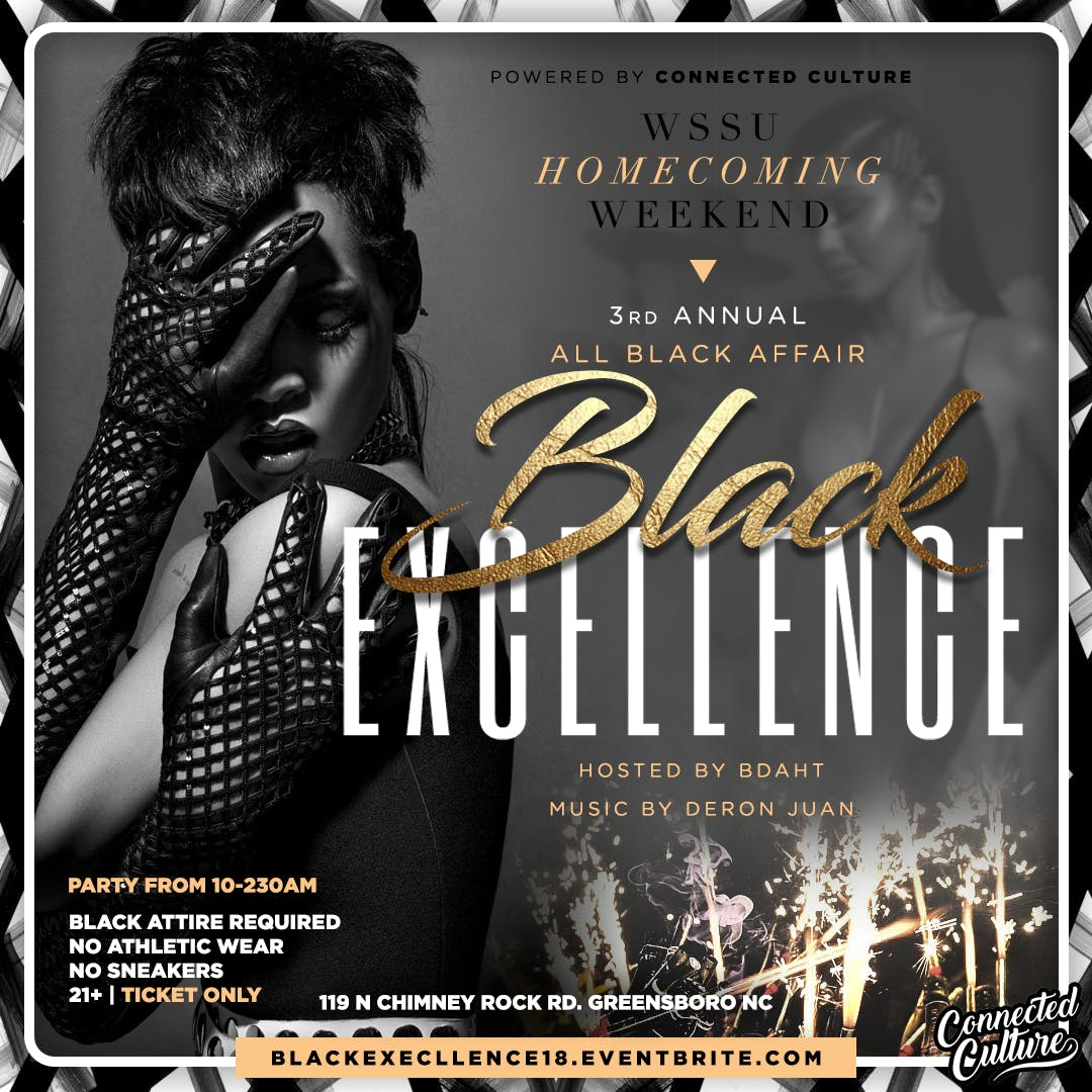 Black Excellence: 3rd Annual All Black Affair