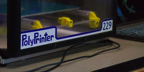 3D Printing on the PolyPrinter tickets