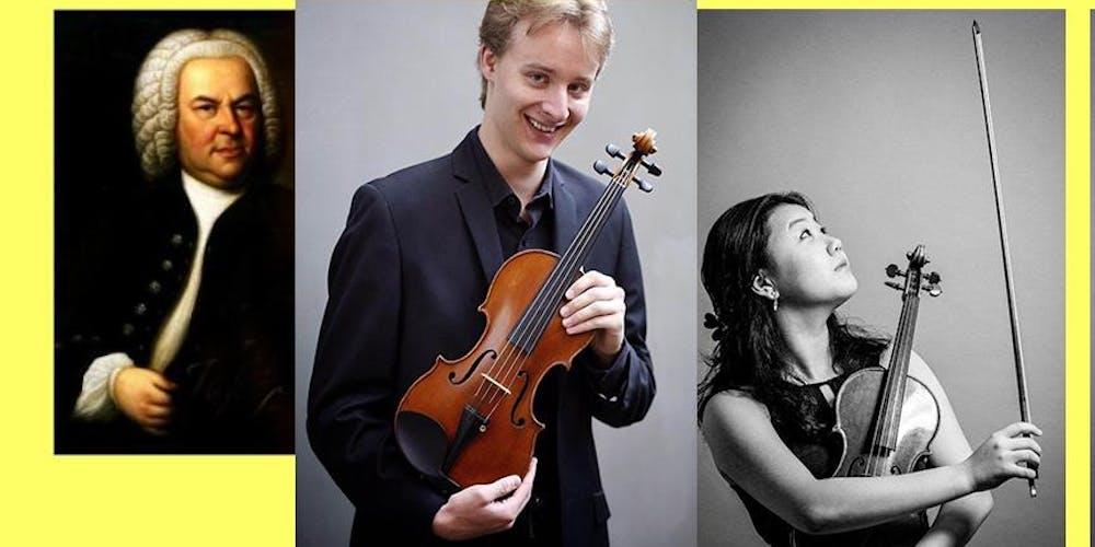Yaegy Park & Brenden Zak, Violins; Jonathan DePeri, Piano; at St. John's in the Village