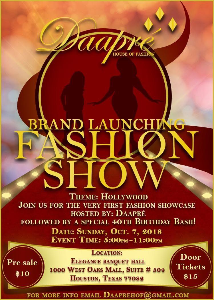 daapré fashion show 7 oct 2018