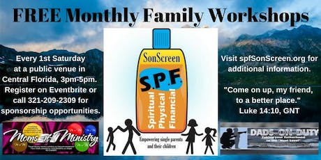 Empowering You to Climb Higher - Free Monthly Family Workshops tickets