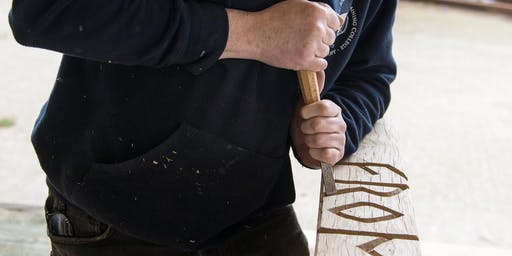 Lettering & Decorative Woodcarving