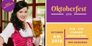 2nd Annual TCB German Oktoberfest