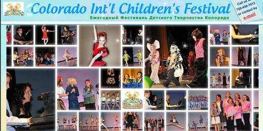 Ninth Colorado International Children's Festival