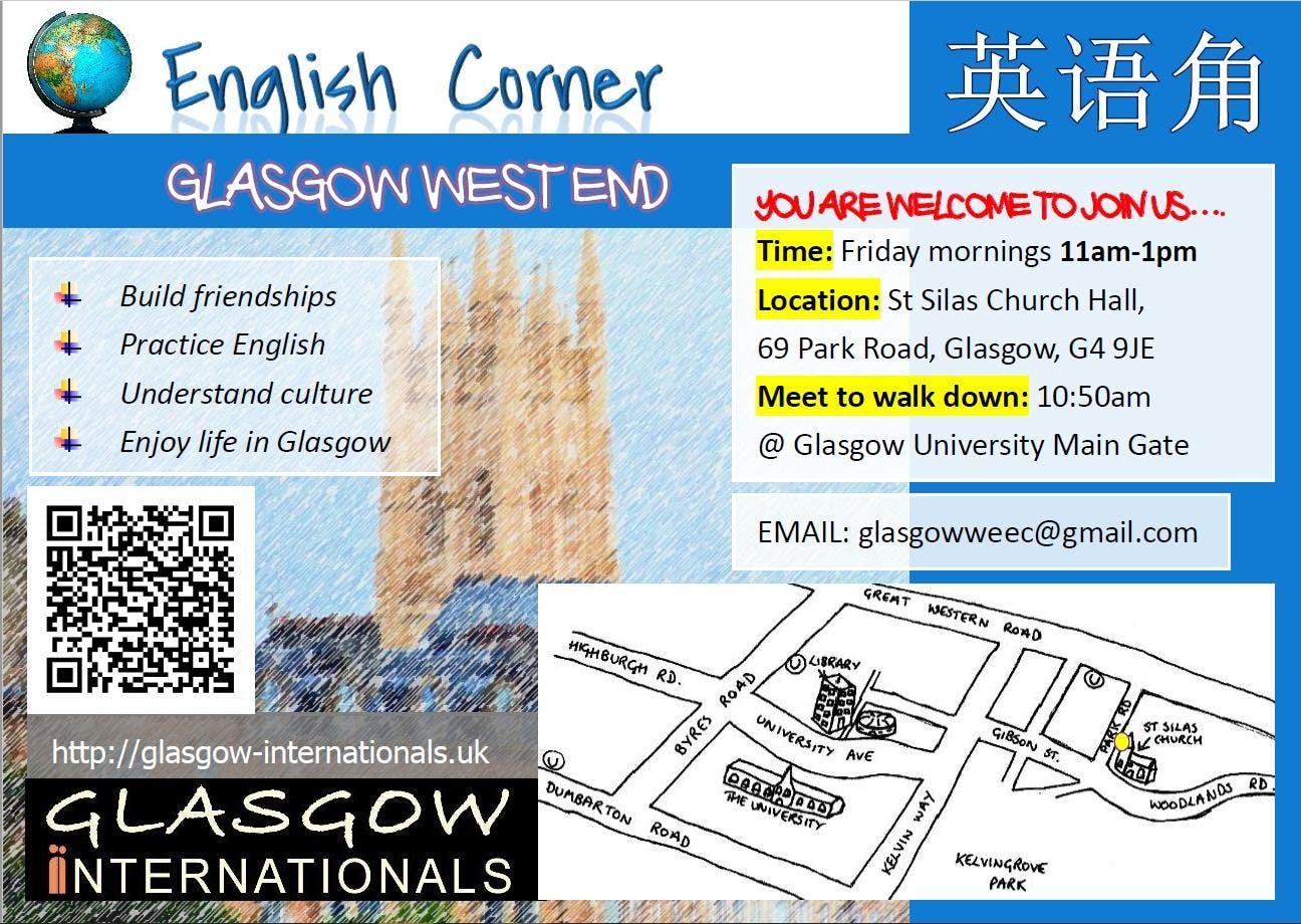 Glasgow West End English Corner