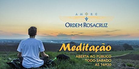 Meditação Aberta à Comunidade - Ordem Rosacruz ingressos