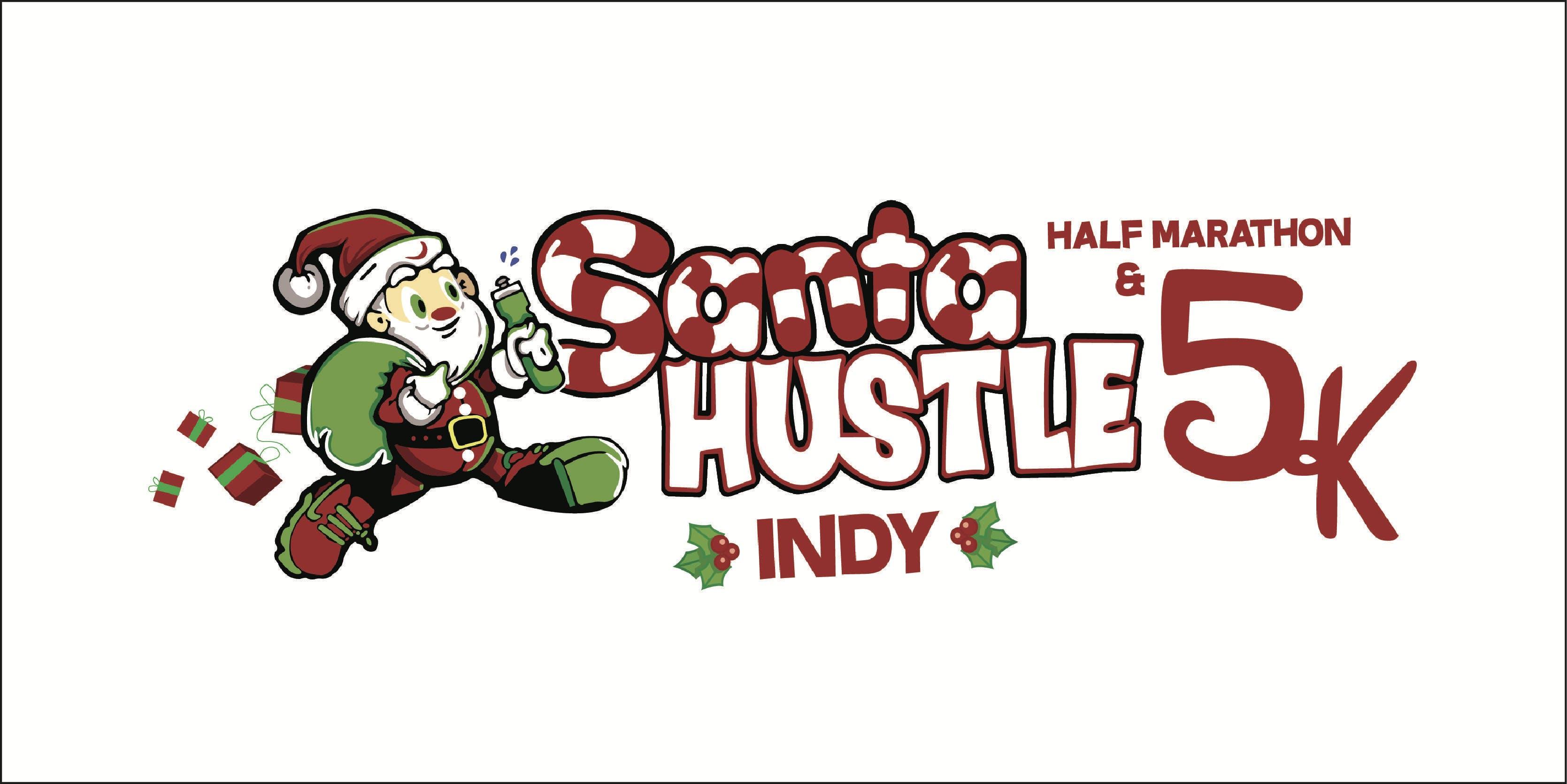 Santa Hustle Indy Half Marathon & 5K Volunteer Sign-up 2018 - 9 DEC 2018